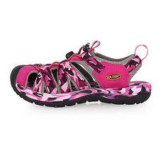 【SOFO】女護指溯溪鞋-拖鞋 休閒涼鞋 海邊 海灘 戲水 迷彩桃紅黑