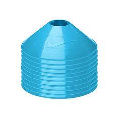 【NIKE】碟形訓練用具-足球 田徑 直排輪 健身 十入 天空藍