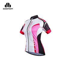 【SOOMOM】女塞拉短車衣 -單車 自行車 越野 速盟 黑莓紅白