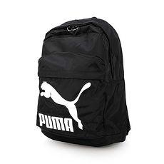 【PUMA】ORIGINALS後背包-雙肩包 旅行包 肩背包 黑白