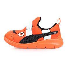 【PUMA】BAO 3 AQUARIUM INF 男女童運動鞋-輕便鞋 童鞋 慢跑 橘黑15