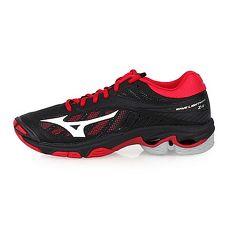 【MIZUNO】WAVE LIGHTNING Z4 女排球鞋-美津濃 黑紅白