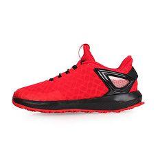 【ADIDAS】SPIDER-MAN RAPIDARUN K男女中童運動鞋-愛迪達 紅黑21