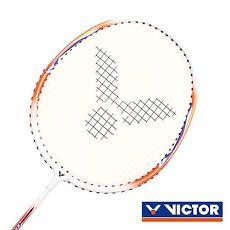 【VICTOR】亮劍穿線拍-羽球 羽毛球拍 訓練 勝利 橘白