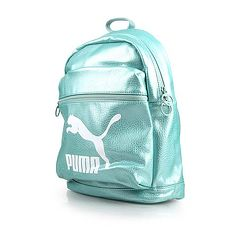 【PUMA】PRIME後背包-雙肩包 旅行包 湖水綠F