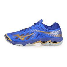 【MIZUNO】WAVE LIGHTNING Z4 男排球鞋-排球 美津濃 藍金