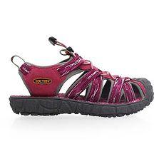 【SOFO】女護趾涼鞋-休閒涼鞋 拖鞋 紫紅