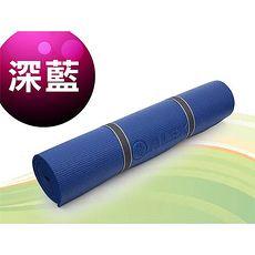【ALEX】瑜珈墊-有氧 塑身 地墊 深藍