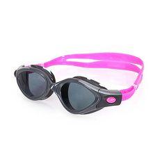 【SPEEDO】FUTURA BIOFUSE成人女用進階偏光泳鏡-蛙鏡 游泳 訓練 戲水 粉紅深灰