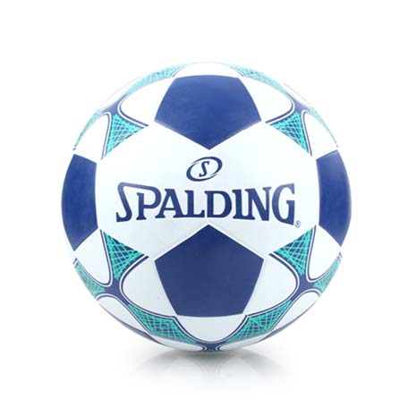 【SPALDING】TEAM 足球-5號球 訓練 斯伯丁 白丈青綠