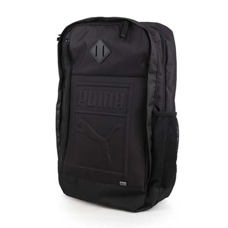 【PUMA】後背包-雙肩包 旅行包 27L 15吋筆電 黑