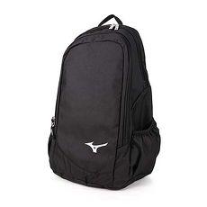 【MIZUNO】後背包-雙肩包 旅行包 15吋筆電 美津濃 黑白