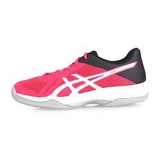 【ASICS】GEL-TACTIC 女排羽球鞋-排球 亞瑟士 桃紅白黑