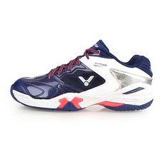 【VICTOR】SH-P9200系列 男專業羽球鞋-3E-寬楦 勝利 丈青白銀