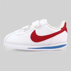 【NIKE】CORTEZ BASIC SL-TDV 男女童復古休閒鞋-童鞋 白紅藍