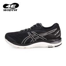 【ASICS】GEL-CUMULUS 20 男慢跑鞋-4E-路跑 亞瑟士 寬楦 黑銀