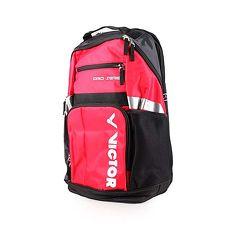【VICTOR】後背包-雙肩包 肩背包 羽球包 運動包 勝利 紅黑白