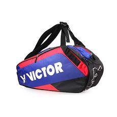 【VICTOR】12支裝羽拍包-提袋 運動包 羽球包 肩背包 勝利 藍白紅黑