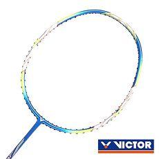 【VICTOR】4U-極速球拍-訓練 羽球拍 羽毛球 空拍 勝利 藍黃白