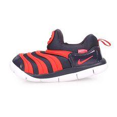 【NIKE】DYNAMO FREE-TD 男女小童鞋-童鞋 慢跑 路跑 深藍紅