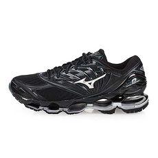 【MIZUNO】WAVE PROPHECY 8 男慢跑鞋-訓練 路跑 美津濃 黑銀