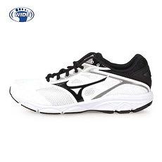 【MIZUNO】MAXIMIZER 21 男慢跑鞋-WIDE-路跑 美津濃 白黑