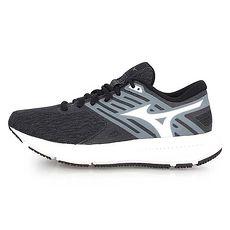 【MIZUNO】EZRUN LX2 女慢跑鞋-路跑 美津濃 黑灰白