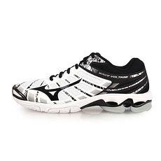 【MIZUNO】WAVE VOLTAGE 男排球鞋-排球 美津濃 白黑