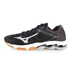【MIZUNO】WAVE LIGHTNING Z5 男排球鞋-排球 美津濃 黑銀