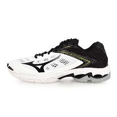 【MIZUNO】WAVE LIGHTNING Z5 男排球鞋-排球 美津濃 白黑黃