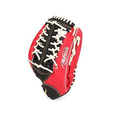 【MIZUNO】壘球手套-外野手用-棒球 壘球 美津濃 紅黑白