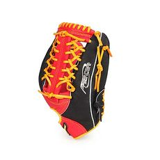 【MIZUNO】壘球手套-外野手用-棒球 壘球 美津濃 黑紅黃