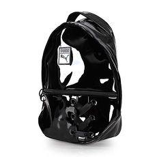 【PUMA】PRIME CRUSH 後背包-肩背包 雙肩包 收納包 亮面黑
