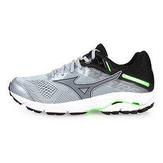 【MIZUNO】WAVE INSPIRE 15 男慢跑鞋-路跑 美津濃 灰黑綠