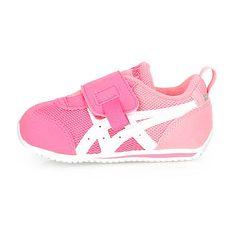 【ASICS】IDAHO BABY KT-ES 男女童運動鞋-童鞋 慢跑 亞瑟士 粉白