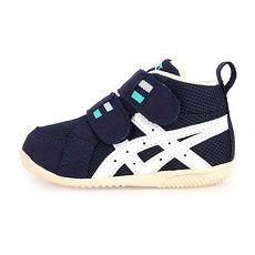 【ASICS】FABRE FIRST MS II 男女嬰幼童運動鞋-童鞋 亞瑟士 丈青白綠