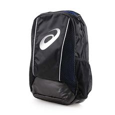 【ASICS】後背包-15吋筆電 雙肩包 肩背包 運動包 電腦包 亞瑟士 黑藍銀