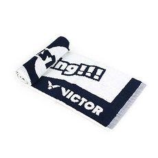 【VICTOR】戴資穎應援毛巾-一只入 海邊 游泳 戲水 慢跑 路跑 羽球 丈青白