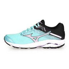 【MIZUNO】WAVE INSPIRE 15 女慢跑鞋-路跑 美津濃 湖水藍淺紫