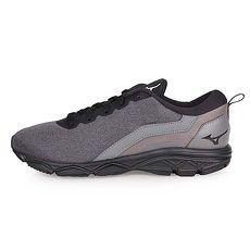 【MIZUNO】EZRUN 2 女慢跑鞋-路跑 美津濃 深灰黑
