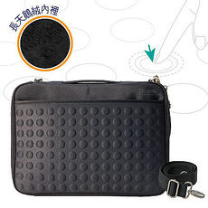 Starking【OUI「為」精品】OBIEN 超防震天梭電腦包(黑色)原價1900特惠上架1480元 (送價值650元觸控筆一支)