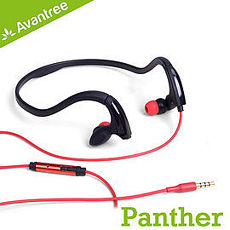 Avantree 防水後掛式iPhone線控運動耳機 一般手機也可使用