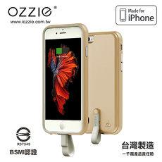 OZZIE iPhone 6/6S 可拆背蓋邊框式行動電源(BSMI及MFI雙重認證)