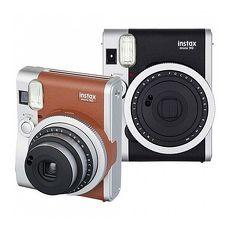 FUJIFILM instax mini 90 馬上看 經典復古拍立得相機(公司貨)-送空白底片+底片保護套(20張)