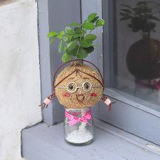 《童趣植栽》【Light+Bio】造型苔球同樂會-小玉