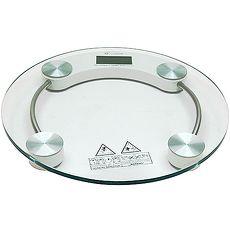 圓型150公斤厚鋼化玻璃體重計2003A