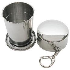 攜帶式150cc不鏽鋼杯環保杯伸縮杯2378
