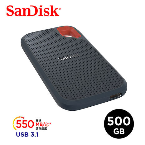 SanDisk Extreme Portable SSD E60 500GB