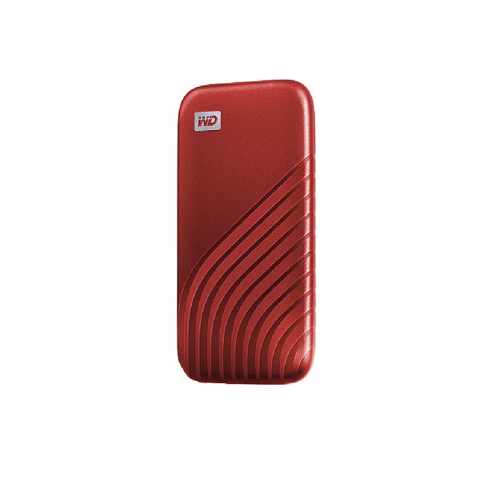 WD My Passport SSD 1TB 外接式SSD 紅