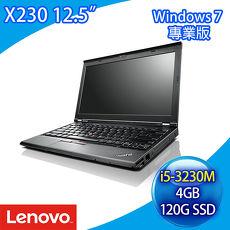 [二手機] Lenovo ThinkPad X230 Intel i5-3210M/4G DDR3/120G SSD